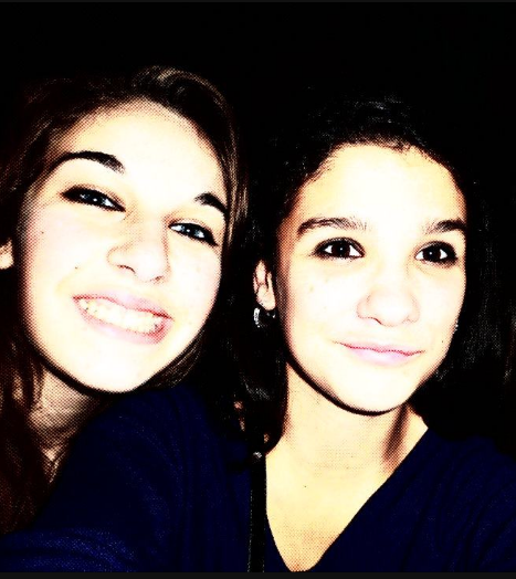 Cathy et Morgane ♥