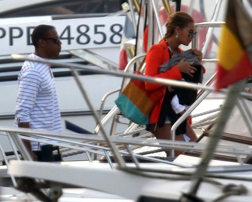 Beyonce St. Barts Cruise Lovers & Beach Relaxation
