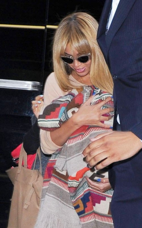 Beyonce Back in the Big Apple