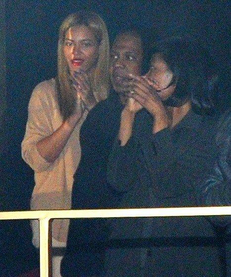 Beyonce Rita Ora Concert with J.