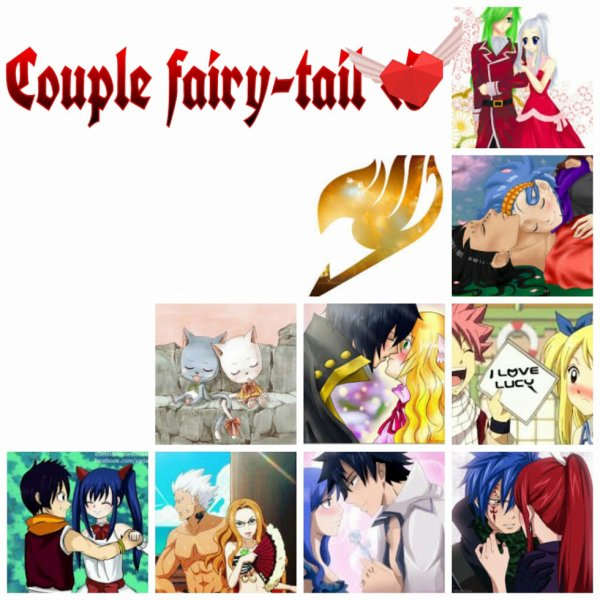 Couple fairy-tail <3