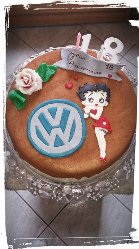 Betty boop love VW 💕