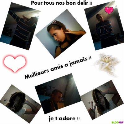 Mellieurs amis a vie !! <3 je t'adoree !!