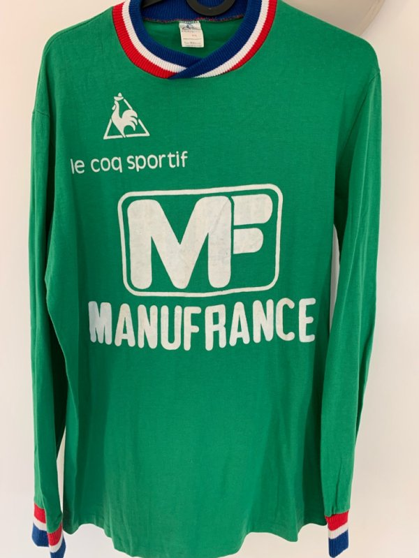 Maillot as st Étienne 1975/76