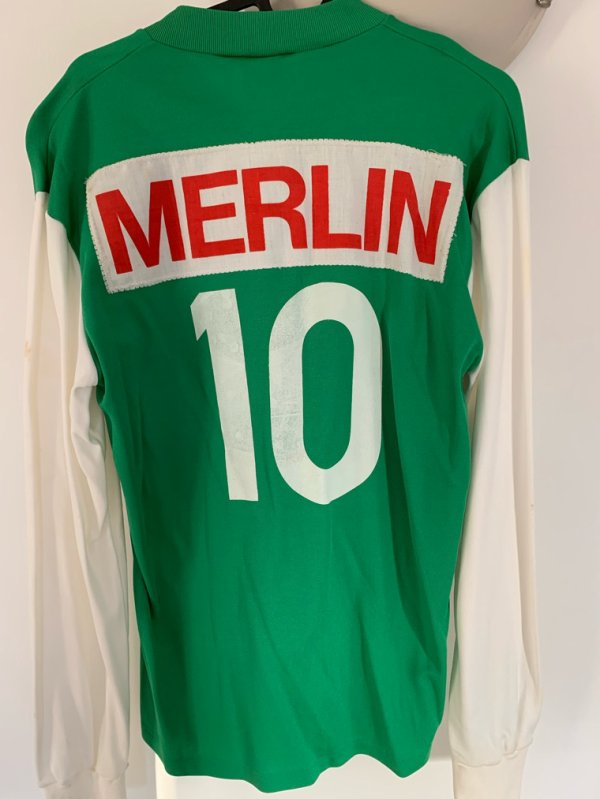 Maillot red star merlin plage