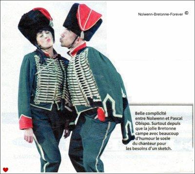 Nolwenn & Pascal Obispo : Les enfoirés ♥