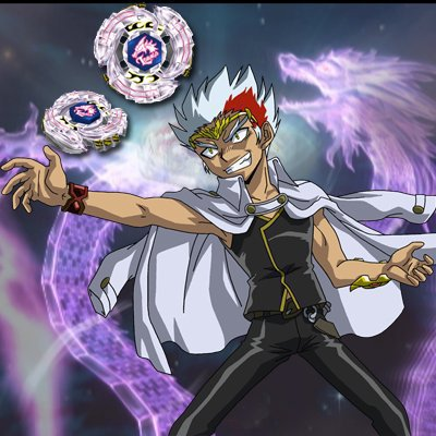 ryuga: fait parti de la nebuleuse noir dont le chef est doji mais il reste quand meme beaucoup moin puissant que ryuga, le nom de sa toupie est l-drago. l-drago: le coup special de l-drago est morsure fulgurante de lempereur dragon ryuga a environ 17 ans est tres fort