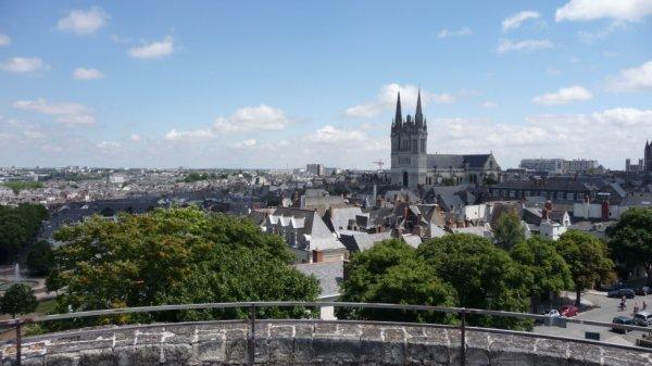 le centre d'Angers