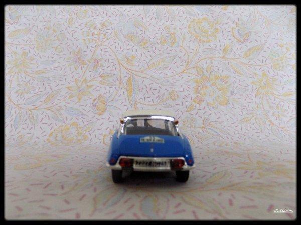 """Citroen DS  19""""Tour de Corse1963""""."""