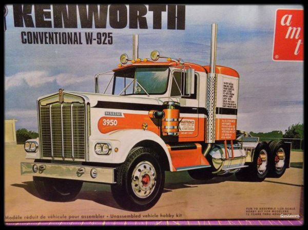 Kenworth W 925. Chassis.(3).