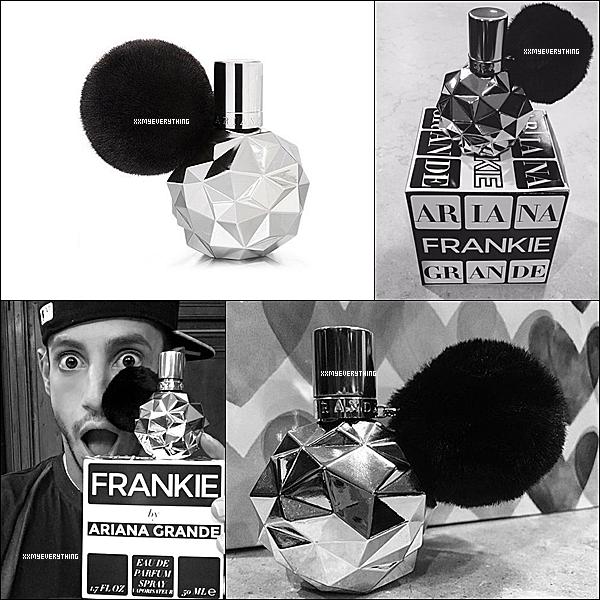Frankie by Ariana Grande disponible en édition limitée.
