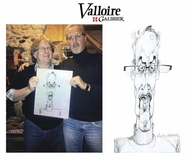 Semaine de la Caricature à Valloire (73)