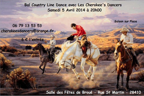 BAL COUNTRY - CHEZ LES CHEROKEE'S DANCERS