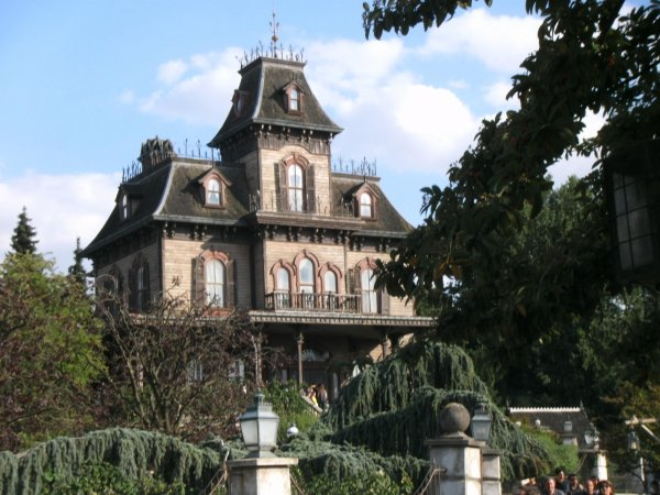 Le Phantom Manor à Disneyland Paris