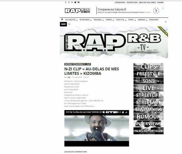 N-ZI dans rap&rnb