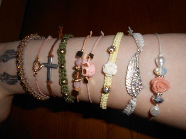 Mes bracelets chouchou !