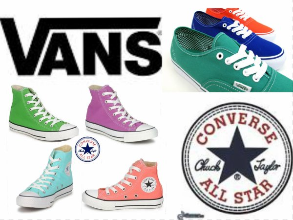 Vans or Converse that is the question.