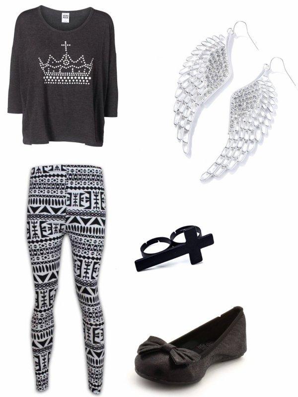 Leggings aztèque : on aiment toutes ce style !