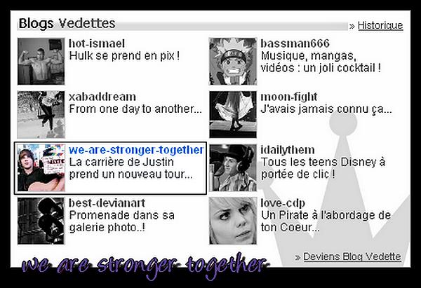 Blog Vedette - Semaine du 17 février 2010