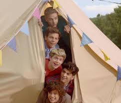 Dans live while we're young.