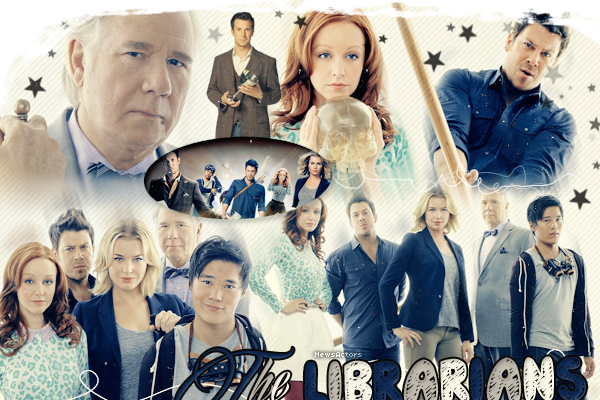 » Fiche Episode : THE LIBRARIANS » Your brain is a weapon, and a tool, and a library all wrapped in one.. - Eve _________________________________________Création - Décoration