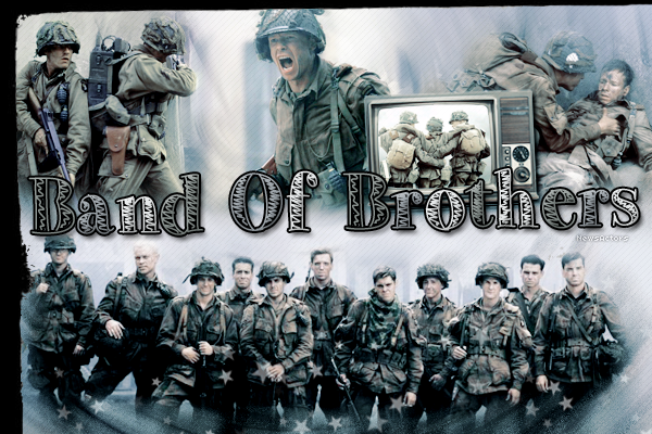 » Fiche Episode  : BAND OF BROTHERS » We salute the rank, not the man. - Winters __________________________________________________________________Création - Décoration