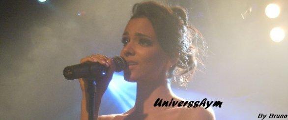 Ce soir, Shy'm est sur scène au Phare de Chambéry  en première partie du concert de Christophe Maé ☺ Elle est accompagnée de ses deux danseuses Gaëlle et Laure! ♫