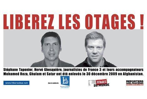 """Hervé Ghesquière et Stéphane Taponier :  """"300 jours déjà"""", concert de solidarité en direct sur France 3 demain (25.10.10) Shy'm sera présente avec ses 4 danseuses (Y)"""