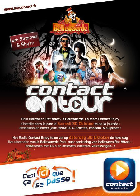 Shy'm et Stromae au Contact Tour aujourd'hui en Belgique! :) De 13h à 16h ils interpréteront leur dernier tube, présenteront leur nouvel Album (Stromae «Cheese» et Shy'm «Prendre l'air»), répondront aux questions des animateurs et feront part en direct de leurs plus vives émotions. :) Interview + 2 lives: Pour télécharger le MP3, clique  ICI ;p