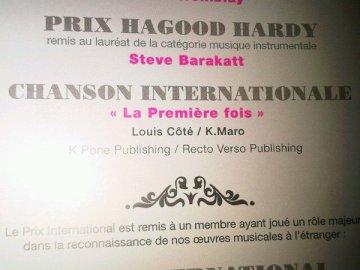 Shy'm était au showcase privé de K-Maro sur Nrj Montréal hier soir!  Elle l'a accompagné sur 2 featurings! ♪ Nrj Montréal 16/11/10 > K-Maro feat Shy'm - Histoire de Luv Clique ici  Nrj Montréal 16/11/10 > K-Maro feat Shy'm - L'un pour l'autre Clique ici Désolé pour la qualité de l'enregistrement...il était 2h du mat en France ^.^