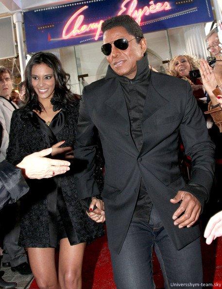 """Shy'm et Mr Jermaine Jackson!  Sur le tapis rouge de """"Champs Elysées""""  Les premières photos! <3"""