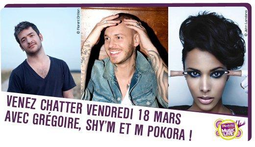 Shy'm sur la scène du M6 Mobile Music Live demain soir à Nantes!  Pour l'occasion, elle sera en tchat sur la page Facebook d'M6 Mobile à partir de 15h! Cliquez ici pour accéder à la page Facebook d'M6 Mobile