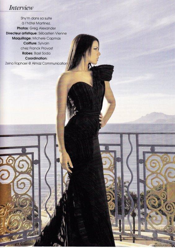 Shy'm dans le magazine Prestige du mois de mars Deux nouvelles pages via ShymWeb <3 avec deux sublimes photos by Greg Alexander ! Ce magazine Libanais reste toujours introuvable dans les presse Françaises... Je vous tiendrai au courant si l'on a davantage d'informations.