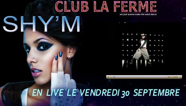 Changement de date! Le showcase au club La Ferme à côté de Montélimar initialement prévu le 7 octobre  vient d'être déplacé au30 septembre, soit vendredi prochain. Toutes les infos à retrouver sur leur site