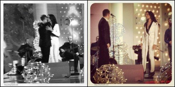 Vivement Dimanche • Shy'm et Michael Bublé «White Christmas» • 25.12.2011