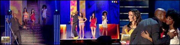 Shy'm @ La chanson de l'année 2011 • «En apesanteur» + Quatuor avec Seal, Inna Modja & Anggun
