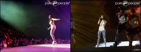 -- Tournée • Shy'm à l'Arena de Genève • 22.12.2011 --