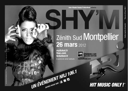 -- x [ Shy'm en séance dédicace à Montpellier en février! ] x --