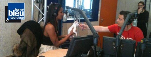 [•Shy'm sur France Bleu Toulouse ce matin•] ||Interview a écouter ou ré-écouter ici> #& retrouvez les photos dans l'article! :)