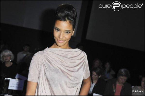    ~ * ~ Shy'm a assisté au défilé de Franck Sorbier aujourd'hui ! Elle était resplendissante ♥ Voici quelques photos~ * ~    