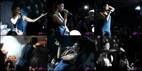 ---xShy'm était en showcase au BO Club à Beaune cette nuit •Les photos---