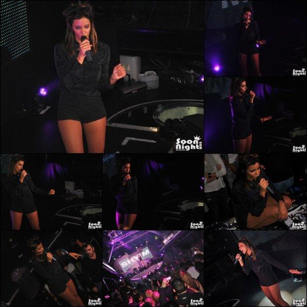 ||| Shy'm était en showcase au Loft à Rungis dans la nuit de samedi à dimanche • Les photos |||