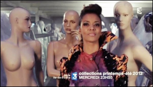 [ ||| • Shy'm présente «Collections printemps-été 2012», le 7 mars sur France 3 Paris Île-de-France • La bande annonce • ||| ]