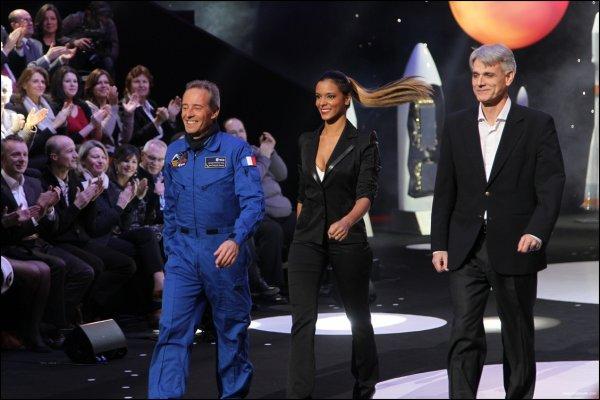 ||| Photos • Shy'm dans Une Nuit dans l'Espace • Diffusion le mardi 27 mars sur France 2 à partir de 20h35 |||