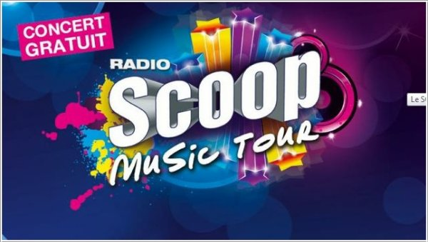 ||| Shy'm sera au Scoop Music Tour le 13 juillet |||