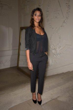 | Fashion Week • Shy'm au défilé de Jean Paul Gaultier le 04.07.12 • Partie 1  |