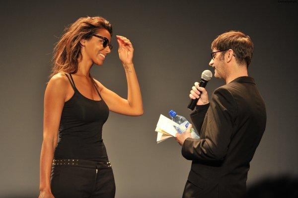 | Fashion Week • Shy'm au défilé de Franck Sorbier le 04.07.12 au Théâtre Antoine • Partie 1 |
