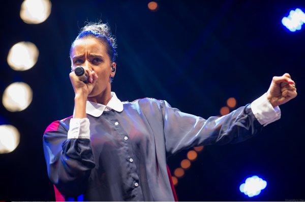 ||| Photos • Shy'm au Nrj Music Tour à Bordeaux - Dimanche 1er juillet• Partie 1|||