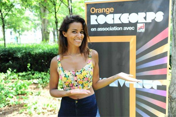 ||| Photos • Shy'm rencontre les bénévoles d'Orange RockCorps - Jeudi 28 juin • Partie 1 |||