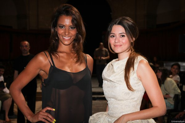 | Fashion Week • Shy'm au défilé de Didit Hediprasetyo le 04.07.12 • Partie 1|